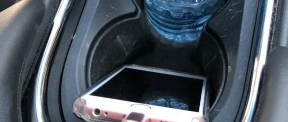 راننده ونکووری جریمه 368 دلاری اش بخاطر قرار دادن گوشی در جا لیوانی را به رسانه ها کشاند!