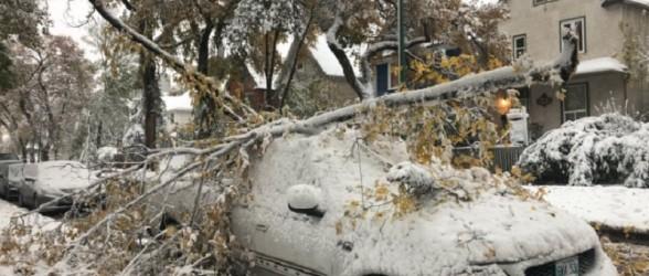 اعلام وضعیت فوق العاده در استان منیتوبا پس از طوفان برف