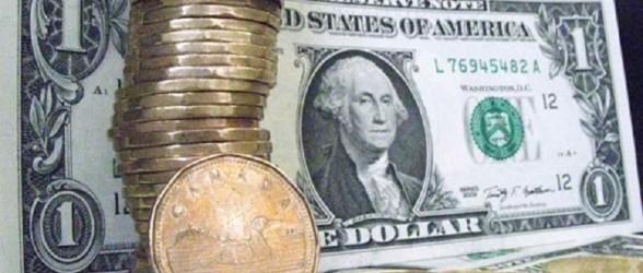 ارزش دلار کانادا  در مقابل دلار آمریکا به بالاترین میزان در 11 هفته اخیر رسید