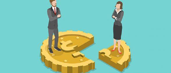 کاهش شکاف درآمدی مردان و زنان در کانادا