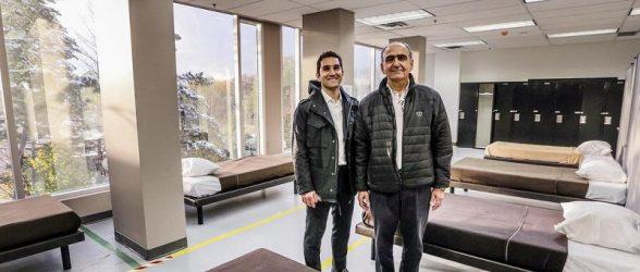 ساختمان سابق هایدرو تورنتو به همت مهاجران ایرانی-کانادایی تبدیل به پناهگاه مهاجران شد
