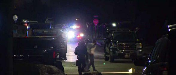 گنگستر ایرانی-کانادایی پس از تیراندازی و یازده ساعت سنگر گرفتن در خانه ای در انتاریو تسلیم پلیس شد