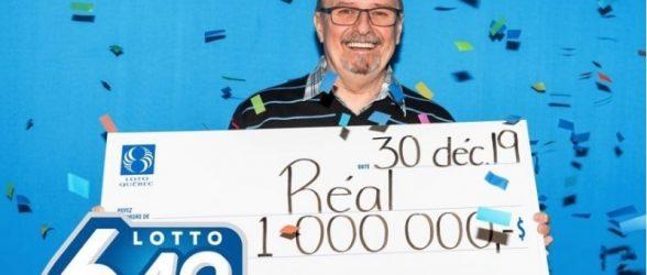 مرد مونتریالی بلیط برنده یک میلیون دلاری  را با 10 دلاری که روی زمین پیدا کرد، خریده بود!