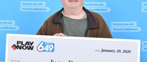 برنده بریتیش کلمبیایی لاتاری مجبور شد 2 ماه صبر کند تا جایزه یک میلیون دلاری را بگیرد