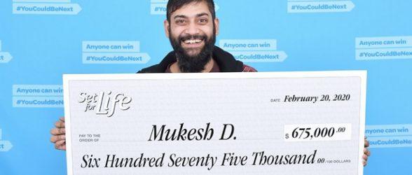 داماد ونکووری با بلیت لاتاری که مادرزن هدیه داده بود،به جایزه 675 هزار دلاری رسید