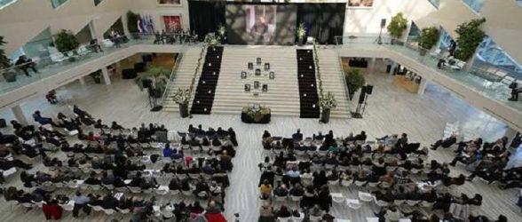 برگزاری مراسم یادبود قربانیان پرواز 752 در ادمونتون