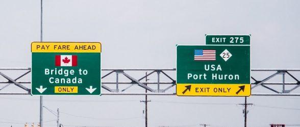 مرز آمریکا و کانادا برای سفرهای غیرضروری و توریستی بسته می شود