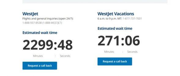 ۲۲۹۹ دقیقه انتظار برای کنسل کردن پرواز با ایرلاین کانادایی !