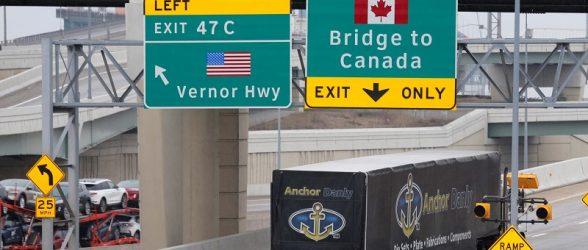 ترامپ: محدودیتهای مرزی بین آمریکا و کانادا بزودی برداشته خواهد شد