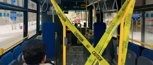 دستگیری مردی مبتلا به ویروس کرونا در ادمونتون که به روی مسافران ، راننده اتوبوس و پلیس سرفه می کرد!