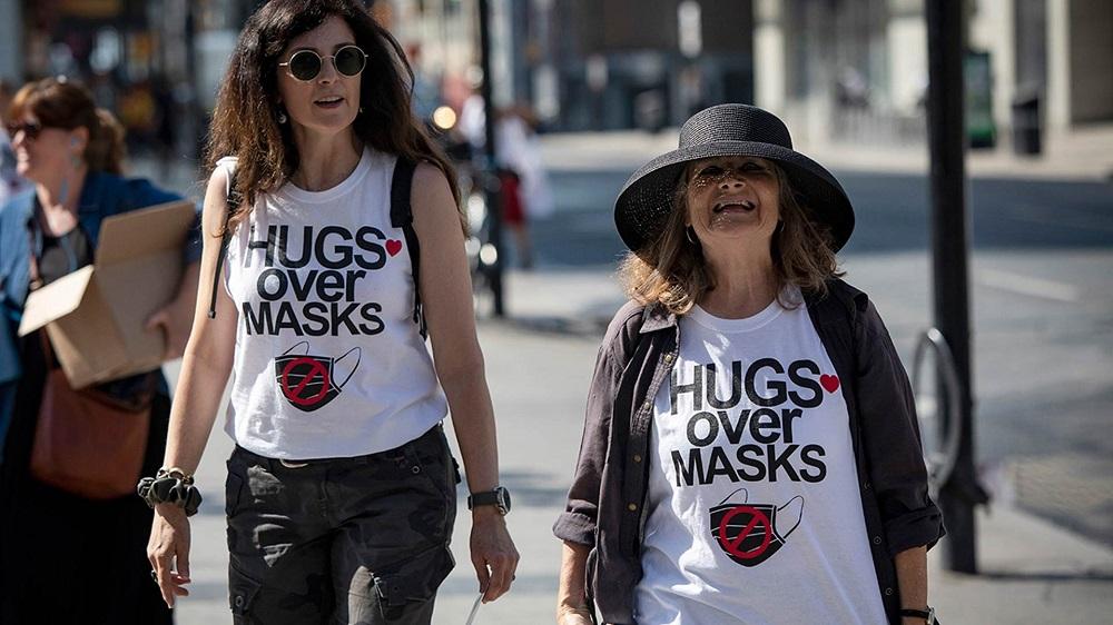 استفاده گروههای مخالف ماسک از ترفندهای فعالان ضد واکسن برای تبلیغ اطلاعات غلط در کانادا
