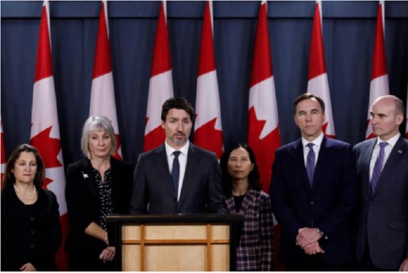 بر خلاف آمریکاییها، بیشتر کاناداییها از تدابیر دولت فدرال در مبارزه با کووید19  راضی هستند