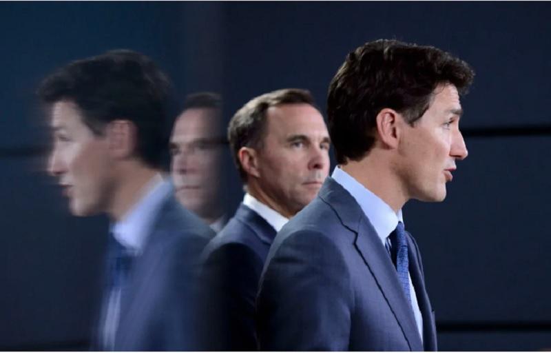 دخالتهای دفتر نخست وزیر ترودو در تصمیمات مورنو ،وزیر دارایی کانادا را «تدارکاتچی»و ناچار به استعفا کرد!