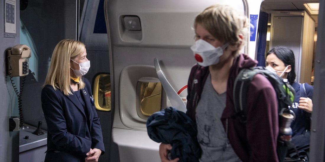 وستجت مسافران بدون ماسک را از پروازها اخراج و آنها را یک سال در لیست سیاه قرار می دهد