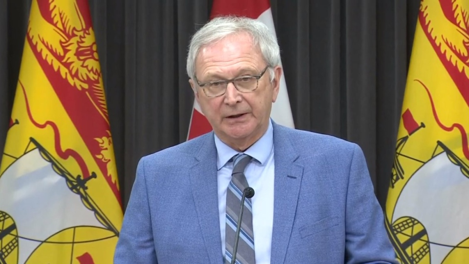 درخواست نخست وزیر نیوبرانزویک برای عدم برگزاری انتخابات فدرال تا قبل از 2022 یا پایان پاندمی کووید-19