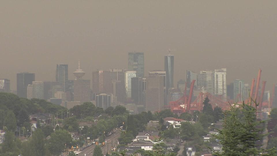 دود و غبار ناشی از آتشسوزیهای آمریکا  ونکوور را در جایگاه چهارم آلوده ترین شهرهای دنیا قرار داد!