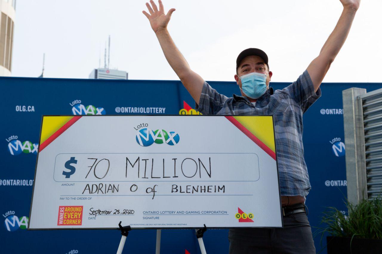 برنامه ریزی چندین ماهه برنده انتاریویی پیش از دریافت جایزه 70 میلیون دلاری
