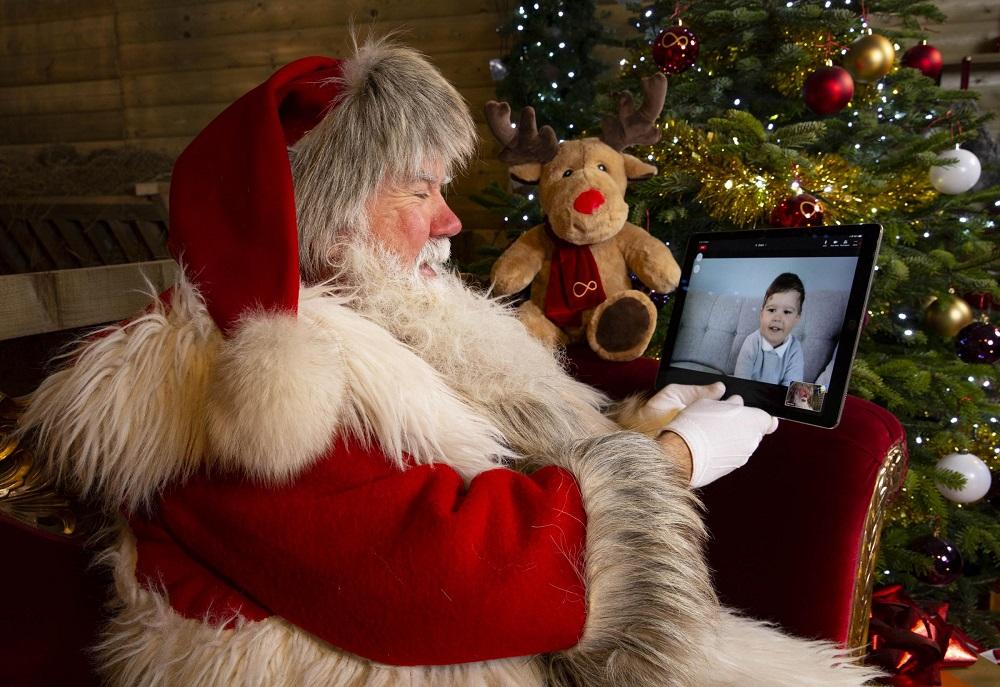 با تشدید موج دوم پاندمی در کانادا و آمریکا ،بابانوئل ها برای 5 دقیقه حضور در «زوم» 50 دلار والدین را شارژ می کنند!