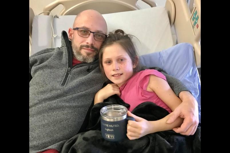 بیماری نادر دختر 10 ساله نورث ونکووری پس از بهبودی از کووید 19