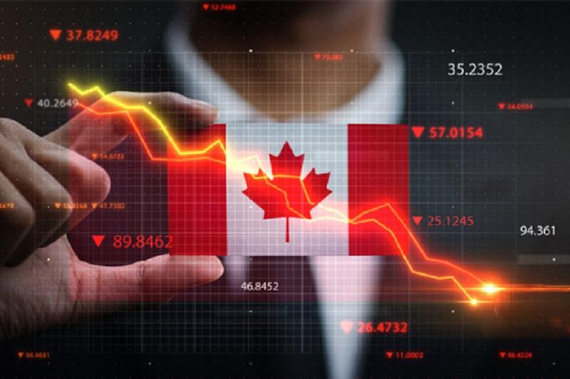 اقتصاد کانادا در سال گذشته 5 درصد کوچک شد