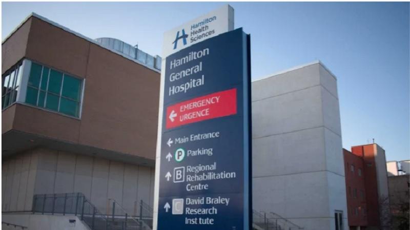 توزیع بروشورهای تهدیدآمیز ضد واکسن در پارکینگهای بیمارستان همیلتون
