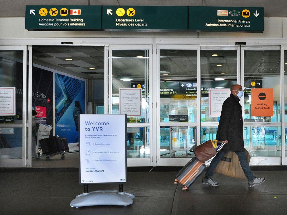 ماه گذشته رکورد ورود بیشترین مسافران مبتلا به کرونا در فرودگاههای بریتیش کلمبیا شکسته شد