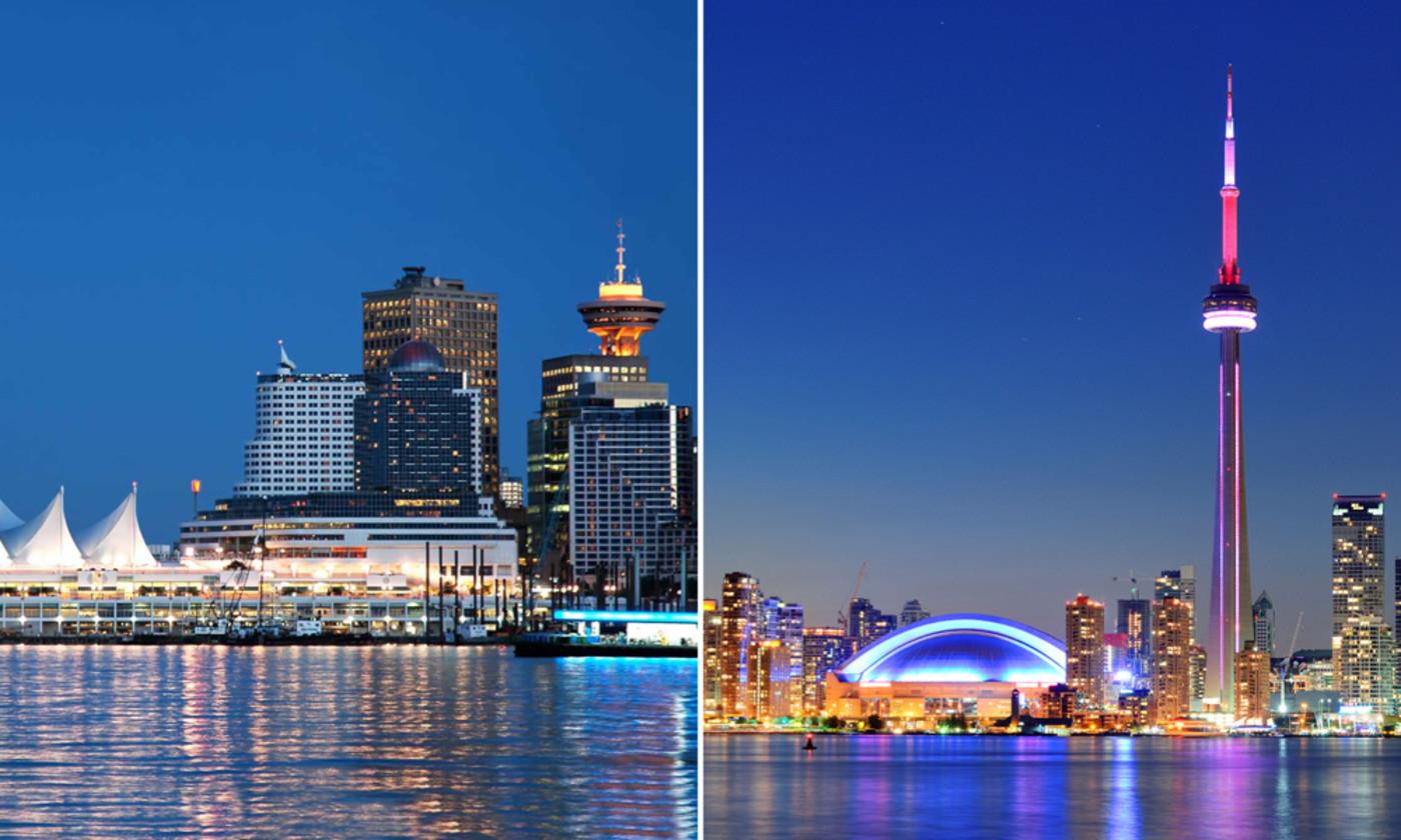 ونکوور و تورنتو دیگر جایی در فهرست «بهترین شهرهای جهان برای زندگی» ندارند