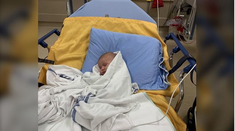 نوزاد بریتیش کلمبیایی بخاطر ابتلا به کووید -19 بستری شد