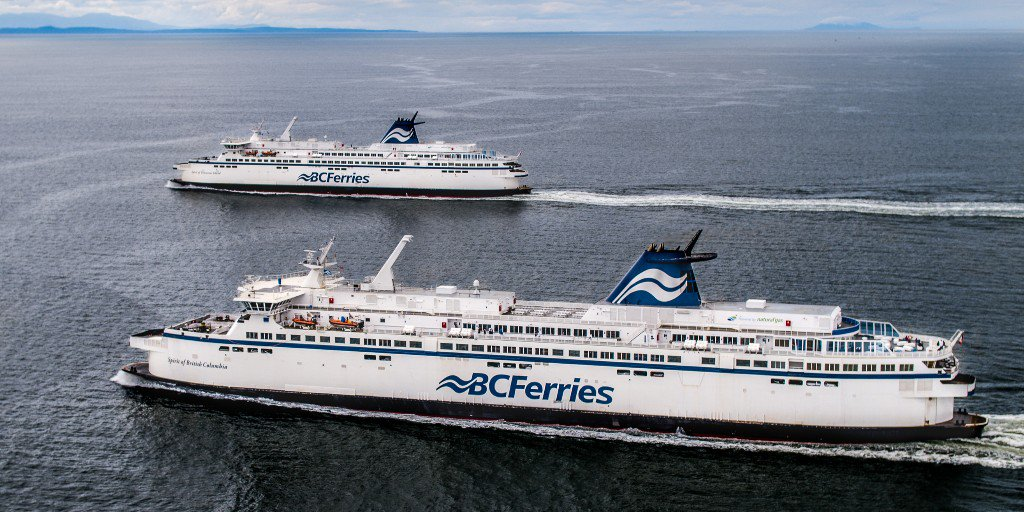 سه مسافر به دلیل امتناع از زدن ماسک و تهدید سایر مسافران BC Ferries دستگیر شدند